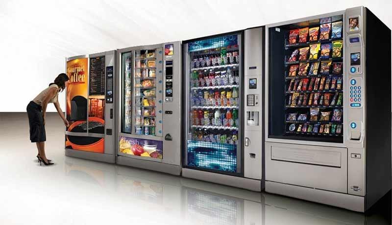 вендинговые автоматы по раздаче рекламных образцов