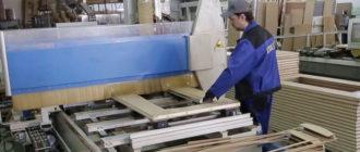 производство дверных коробок