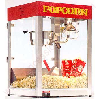 Производство и продажа попкорна