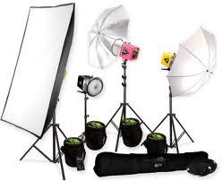 набор освещения для фотостудии