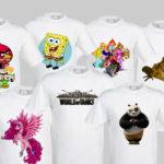 картинки для сублимационной печати на футболках