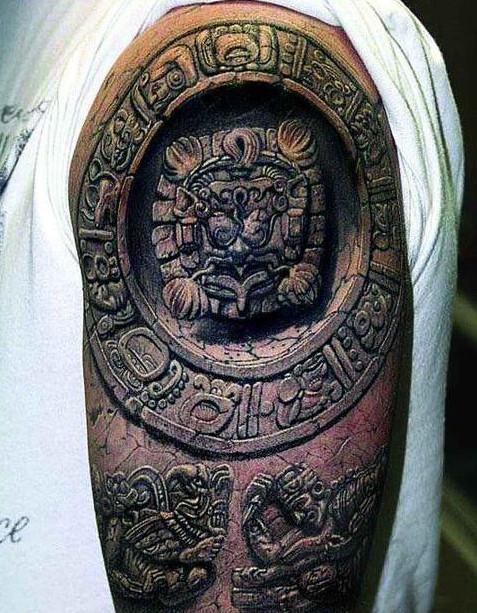 татуировки на время