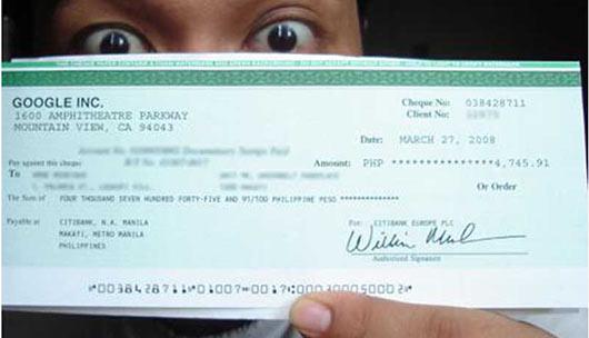 чек за конвертацию трафика