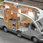 дом на колесах из микроавтобуса