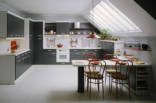 переоборудуем чердак под кухню