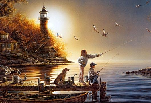 идеальная рыбалка