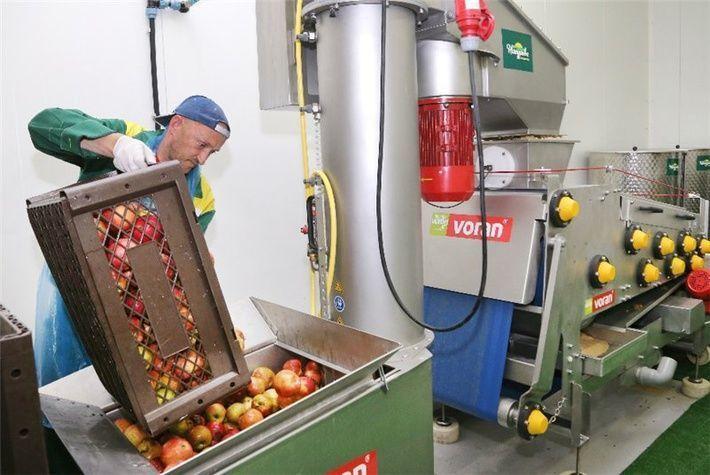 линия по производству яблочного сока
