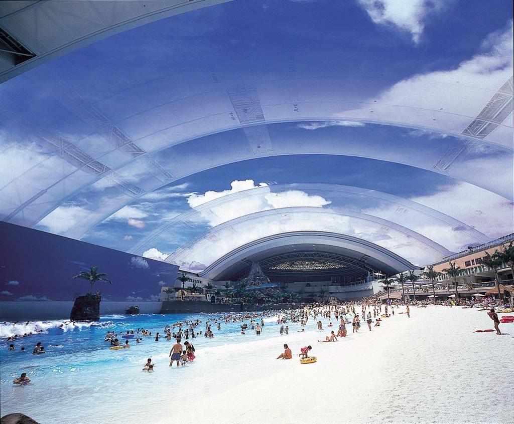 крытый всепогодный аквапарк